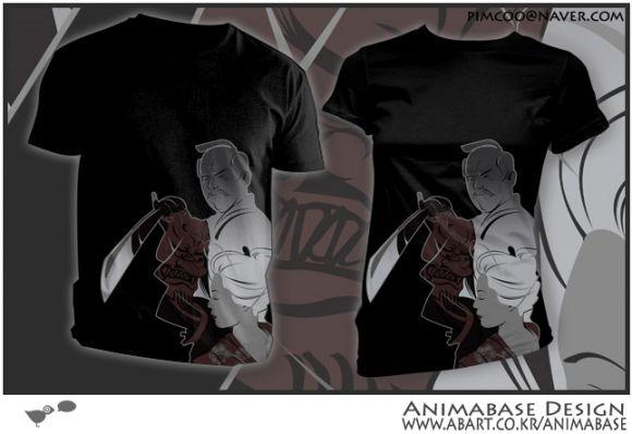 teefury samurai mind animabase 03 (Teefury) T shirt Samurai Mind $9