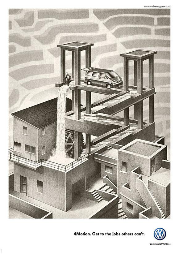 vw2 0 Volkswagen and Escher